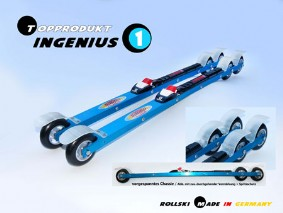 Skating-Rollski INGENIUS 1