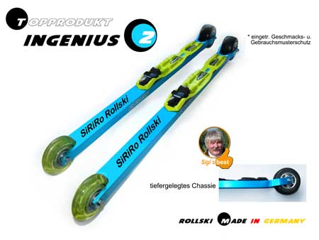Skating Rollski  INGENIUS 2